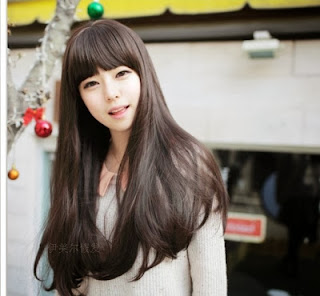 Surprising Globelstyle Korean Girls Hairstyle 2015 On The Beauty Face Hairstyle Inspiration Daily Dogsangcom