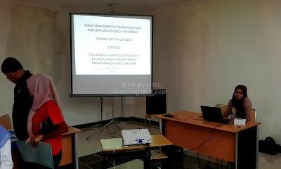 Sosialisasi Permendikbud Nomor 107 Tahun 2013 di PPPPTK PKn dan IPS