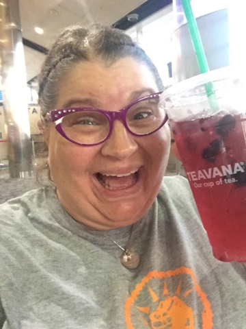 2017 Detroit Airport- Berry Hibiscus Refresher