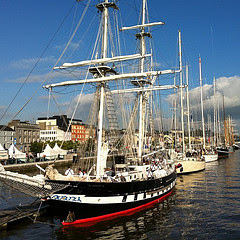 Tallships in Waterford Marina