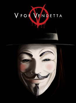 Poster Of V for Vendetta (2005) In Hindi English Dual Audio 300MB Compressed Small Size Pc Movie Free Download Only At World4ufree.Org