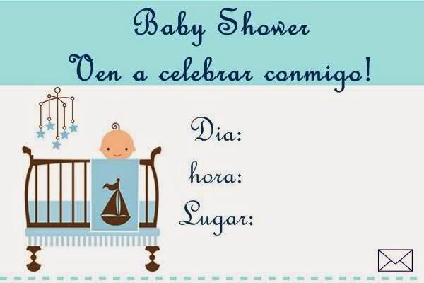 Tarjetas e Invitaciones de Baby Shower para Niños, parte 5