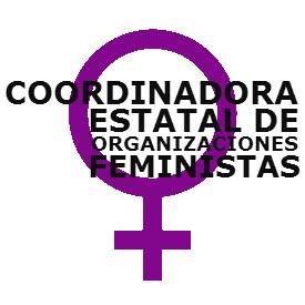 coordinadora estatal de organizaciones feministas