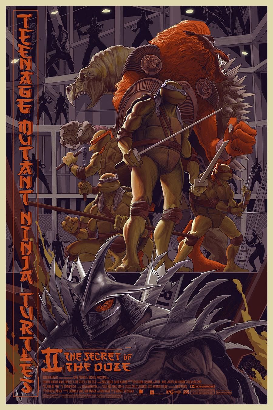 INSIDE THE ROCK POSTER FRAME BLOG: Teenage Mutant Ninja ...