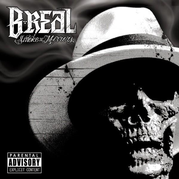B-Real - Smoke n Mirrors Cover