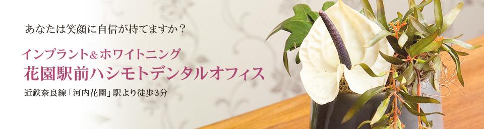 東大阪市の無痛治療インプラント・花園駅前ハシモトデンタルオフィス