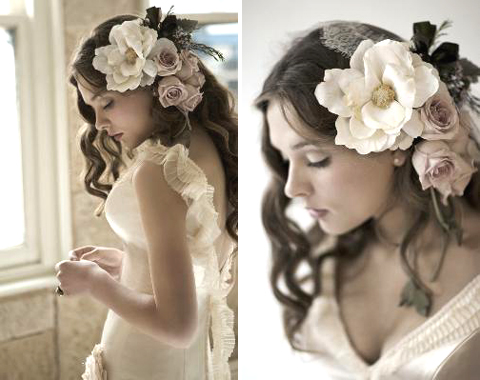 Hairstyles With Natural And Fake Flowers Hope You Will Enjoy