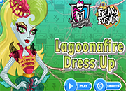 Monster High Lagoonafire Freaky Fusion