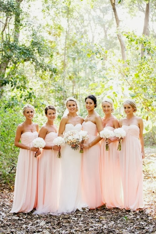 Before Choosing Your Whole Bridesmaid Dresses As For Colors You Could Select Several Color Combinations The Bridesmaids There Are Many Choices