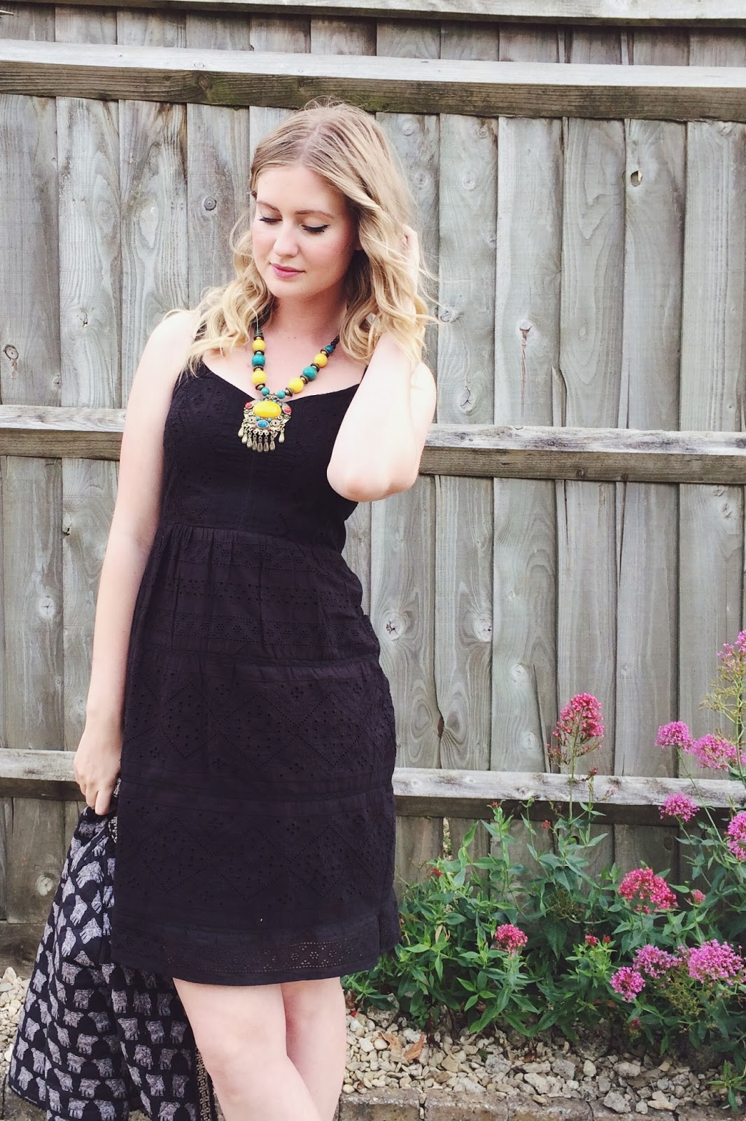 Fat Face elephant print jacket, Fat Face summer dress, fashion bloggers