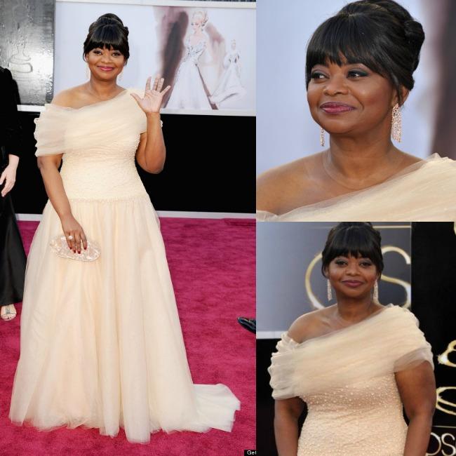 il look di Octavia Spencer agli Oscar 2013