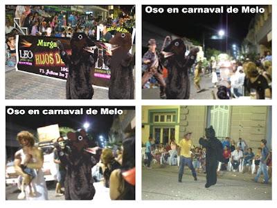 Carnaval Melo osos