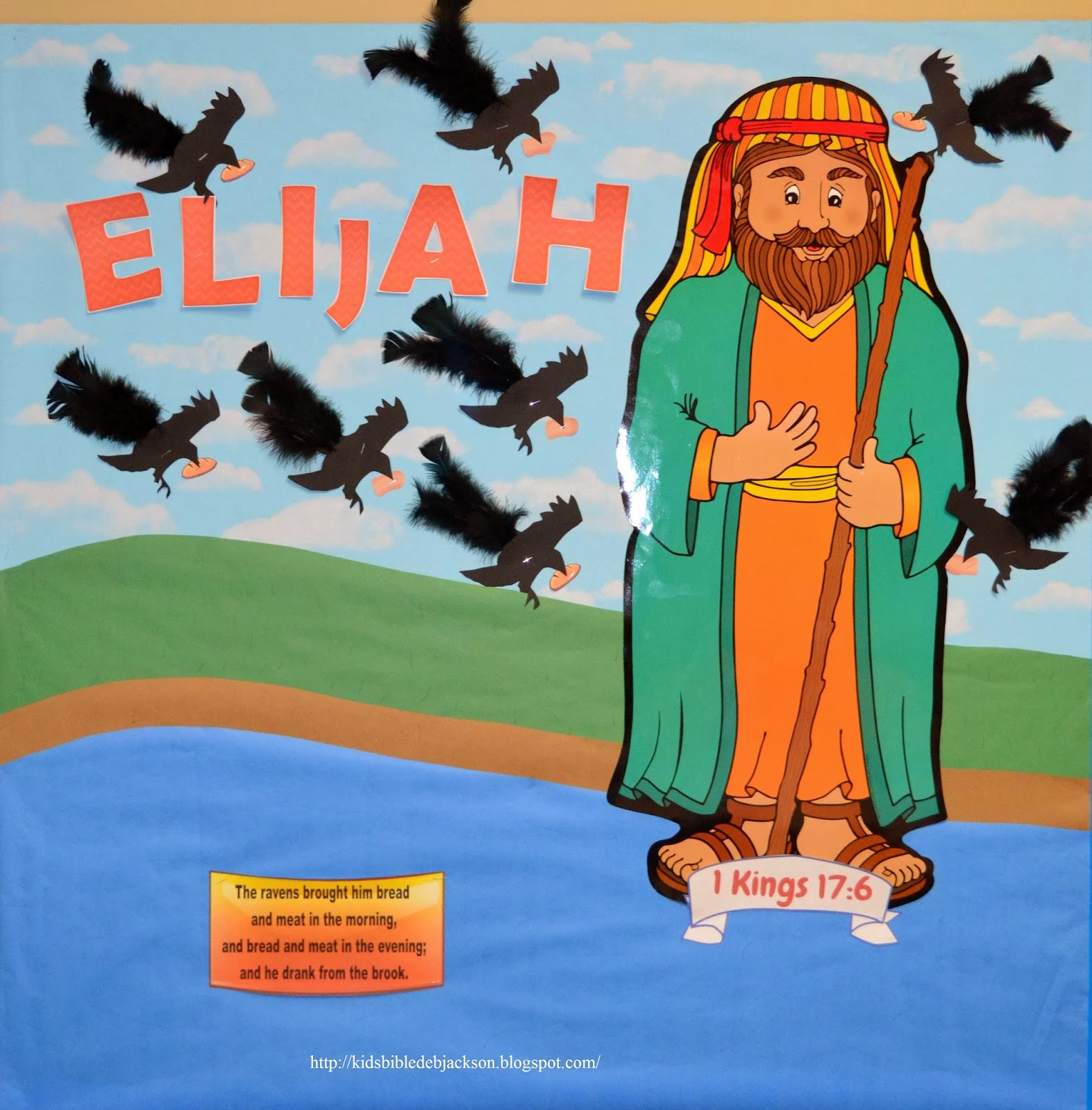 Elijah Fed By Ravens Bible Story For Kids