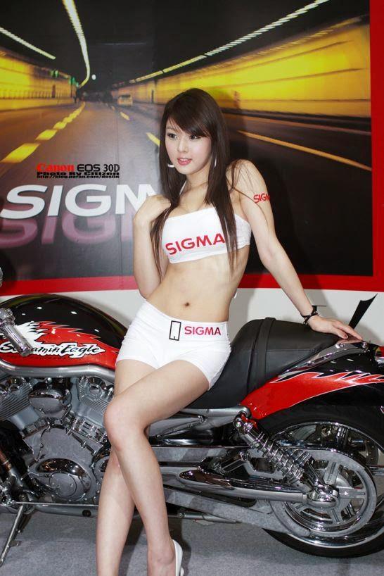 hwang mi hee sexy motor show model 05