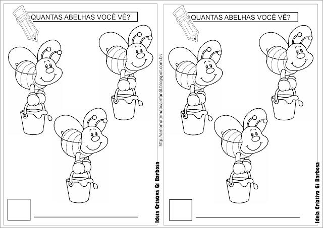 Atividade As ABELHAS Vinicius de Moraes Número e Quantidade