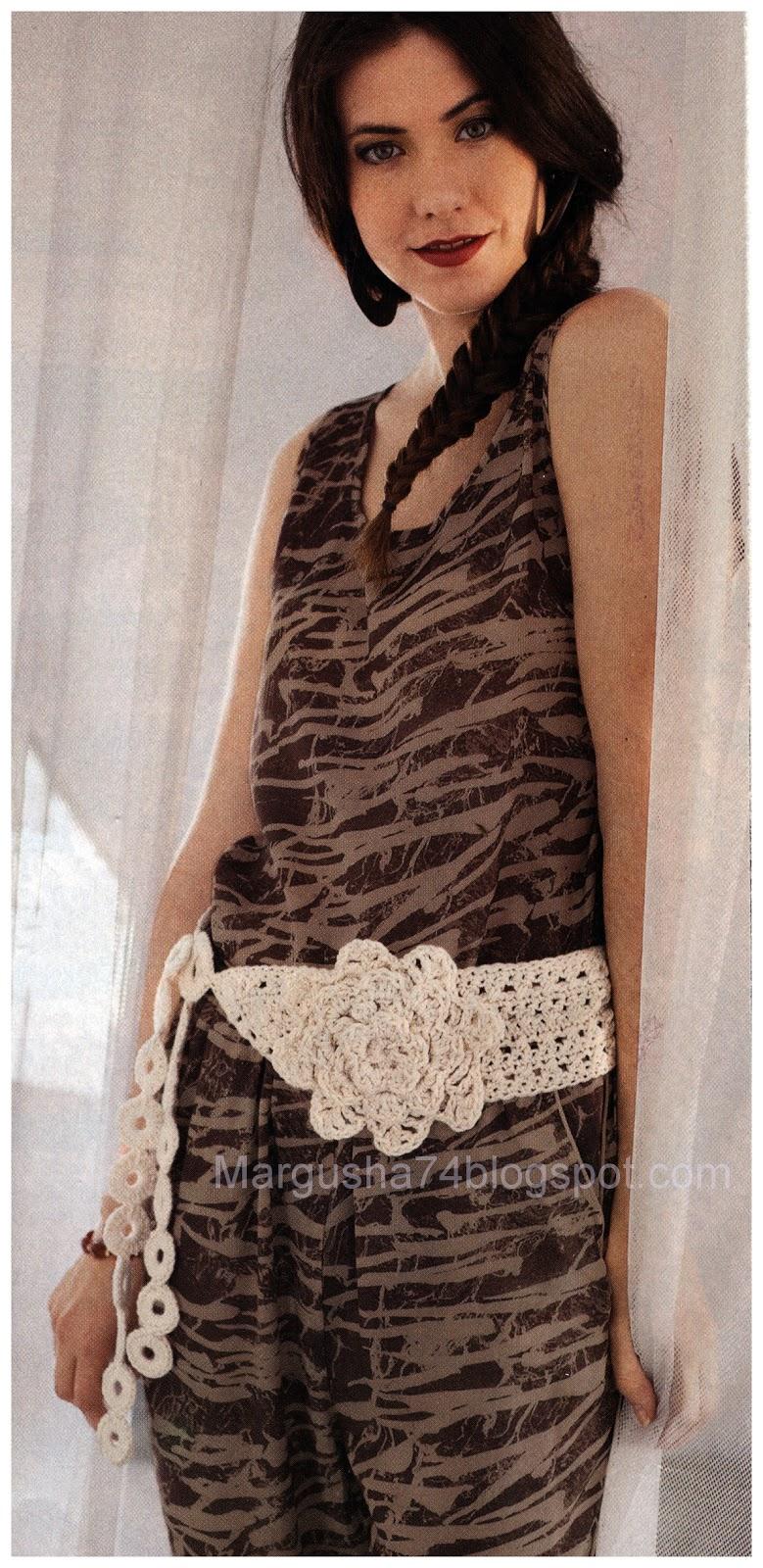 Коробка увлечений: Ремни, пояса и браслеты вязаные