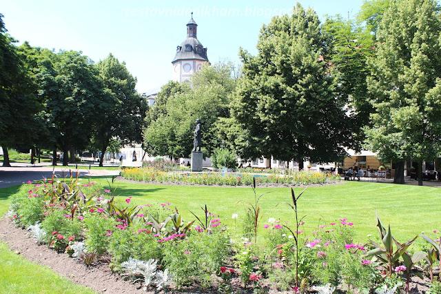 Smetanovy sady // a park