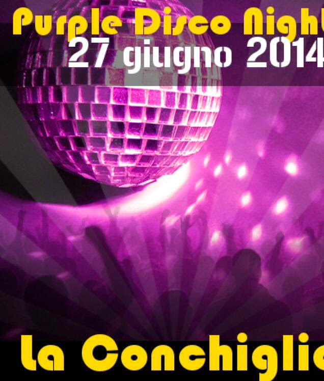 PURPLE DISCO NIGHT