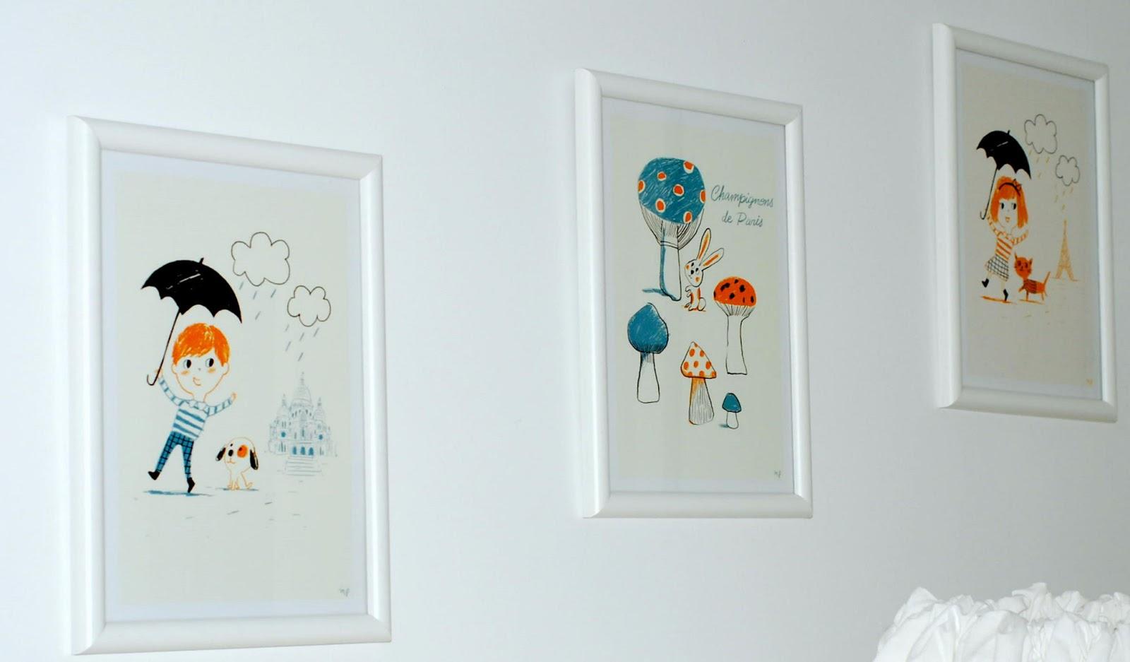 Rose ciel et jaune bonbon: on décore la chambre de bébé