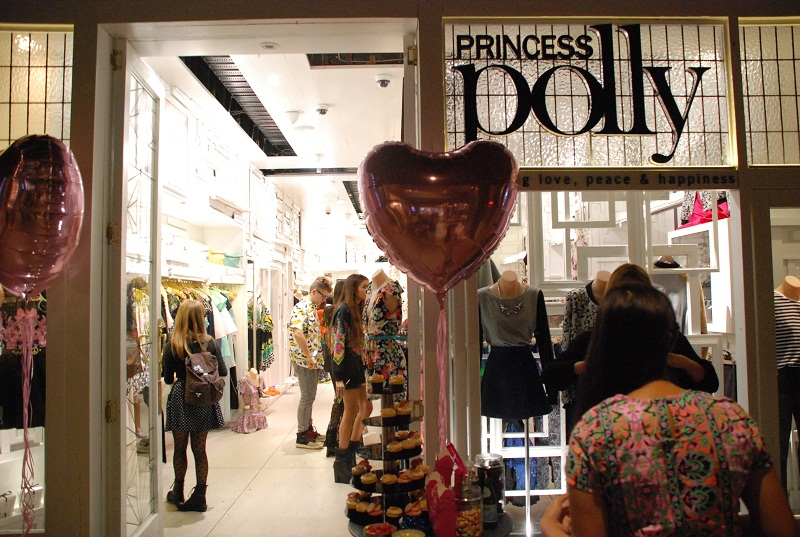 Princess Polly, Sydney, Pitt St, store opening, launch,