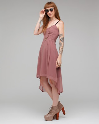 Chiffon Mullet Dress
