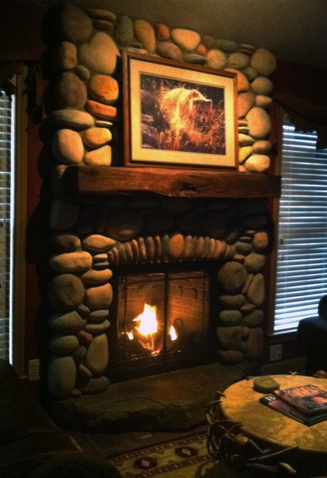 design idea the rustic lodge look gas fireplace mendota