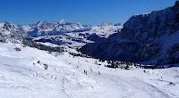 lyžiarske stredisko Val Gardena