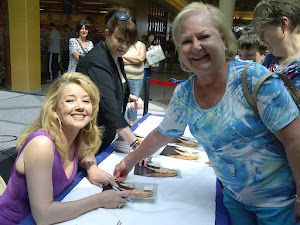 Melody Thomas Scott and me