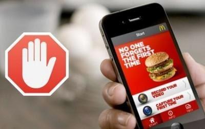 Bloccare pubblicita su app smartphone