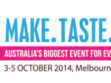 WIN- 1 of 5 Double passes to the  Melbourne Cake Bake & Sweets Show