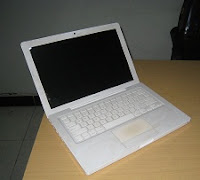 jual macbook white 4.1 bekas