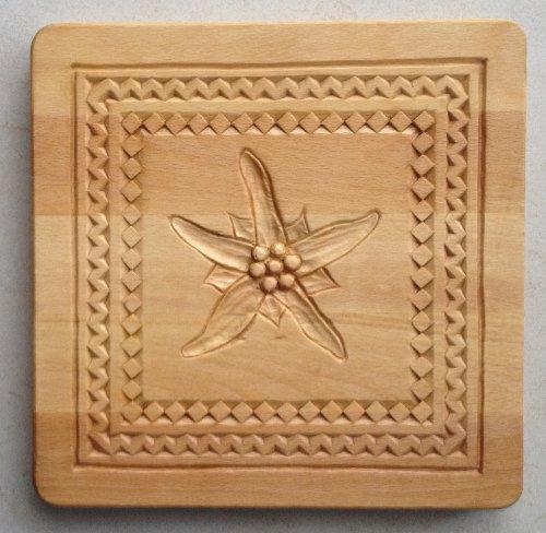 Popolare Intaglio del legno: Sottopentola 2 - il faggio WA01