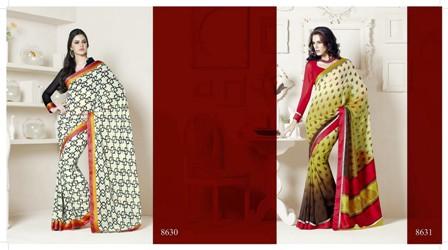 Madras-Saree-Style