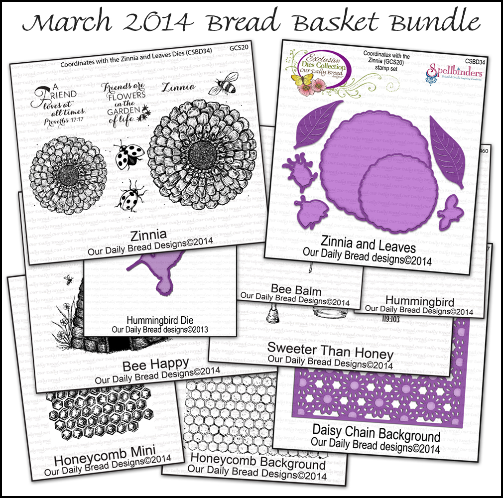 Stamps - Our Daily Bread Designs March 2014 Bread Basket Bundle