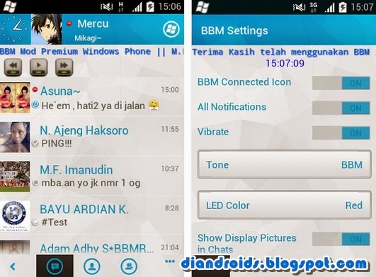 download bbm mod 2.6.0.30 plus sticker