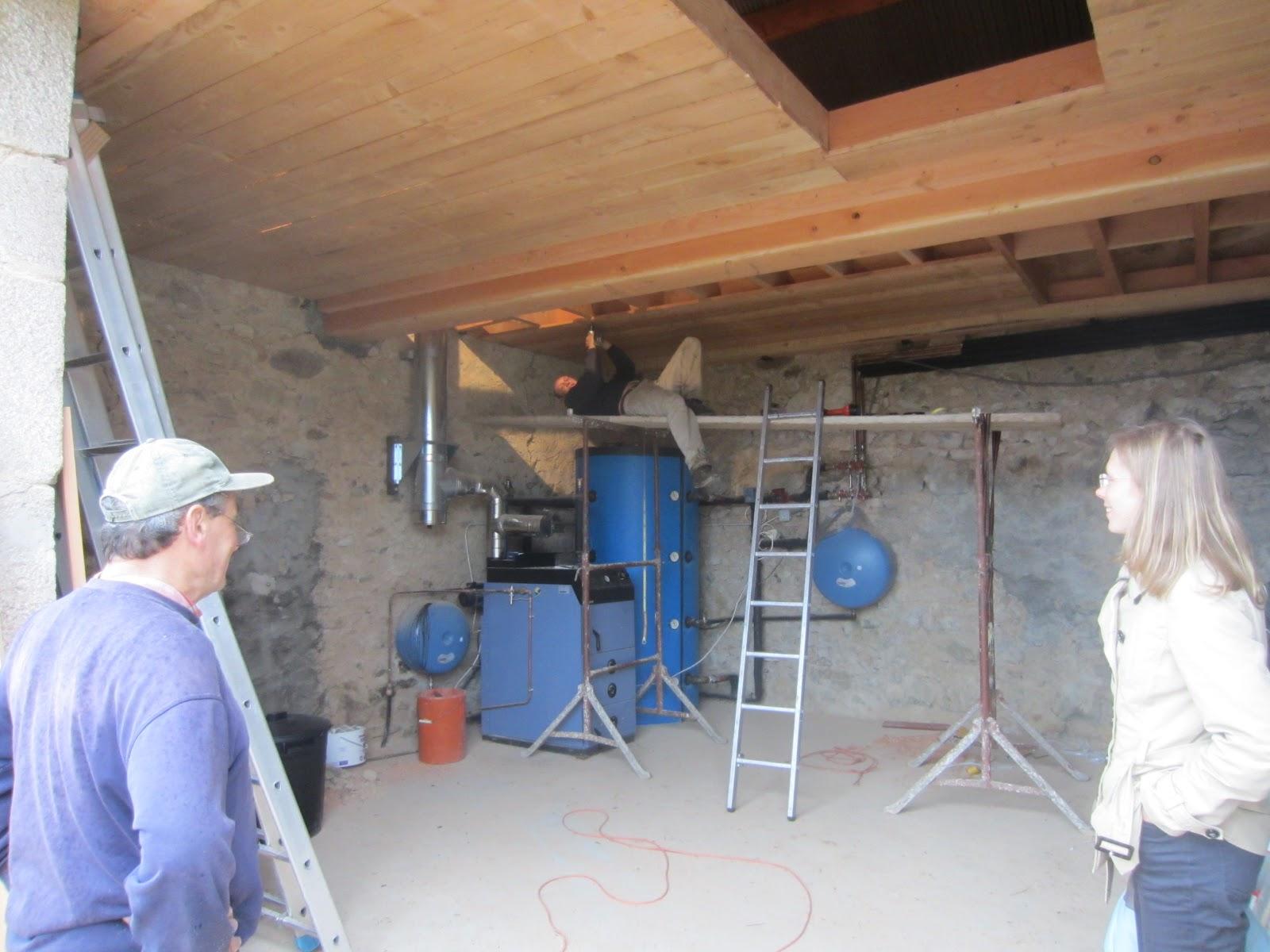 L Avancement De La R Novation De Notre Maison Le Plancher De La  # Plancher De Grange Ancien