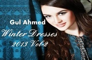 Gul Ahmed Winter-13 Vol-2