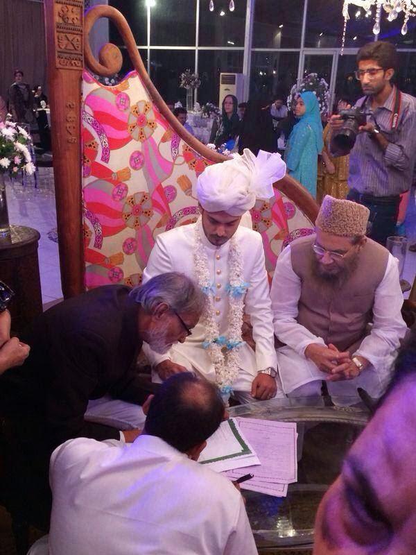 Rehan siddiqi wedding