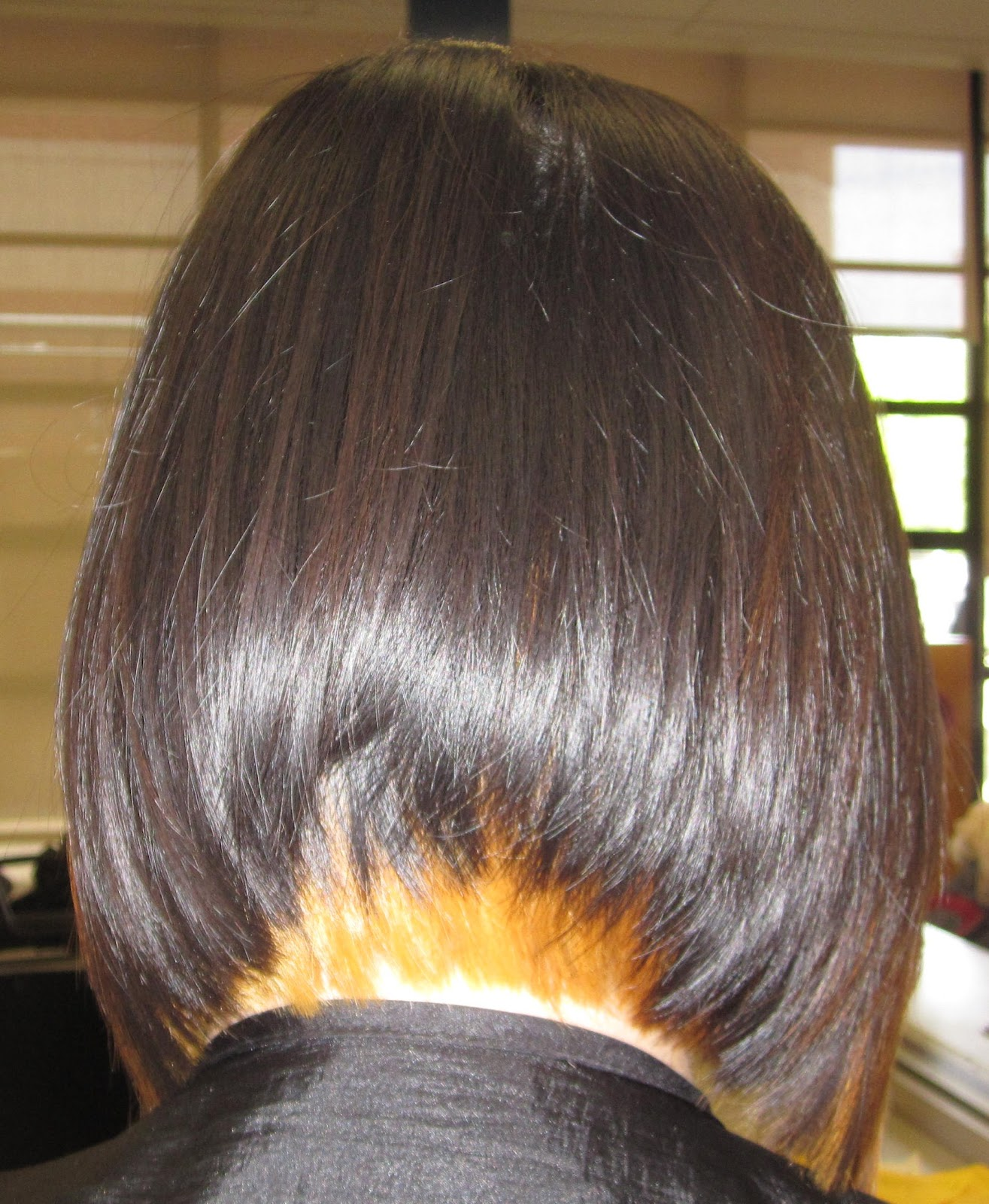 A Line Bob Haircut With Bangs