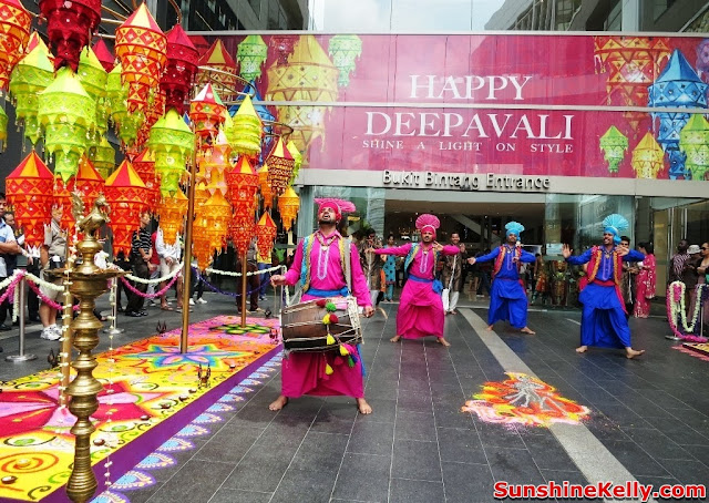 Deepavali, Pavilion KL, festival of light, indian bhangra dance