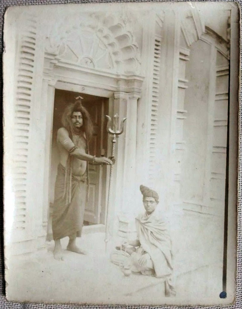 Theatre Actors - Calcutta, Date Unknown