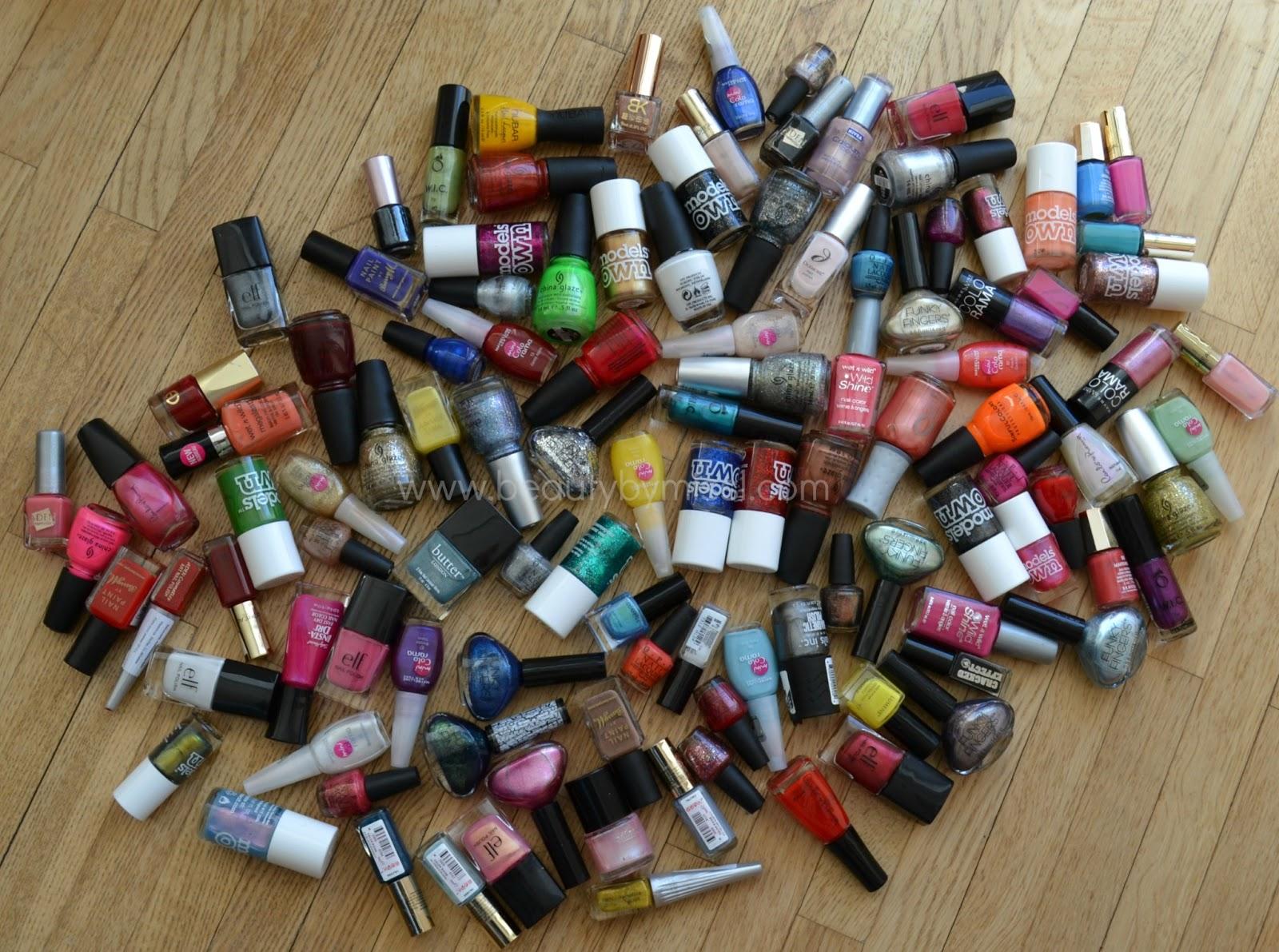 nail lacquers, nail enamels