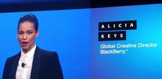 Alicia Keys Jadi Bos Baru Blackberry