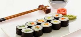 Resep Praktis (mudah) membuat masakan khas asli Jepang sushi enak (Lezat)