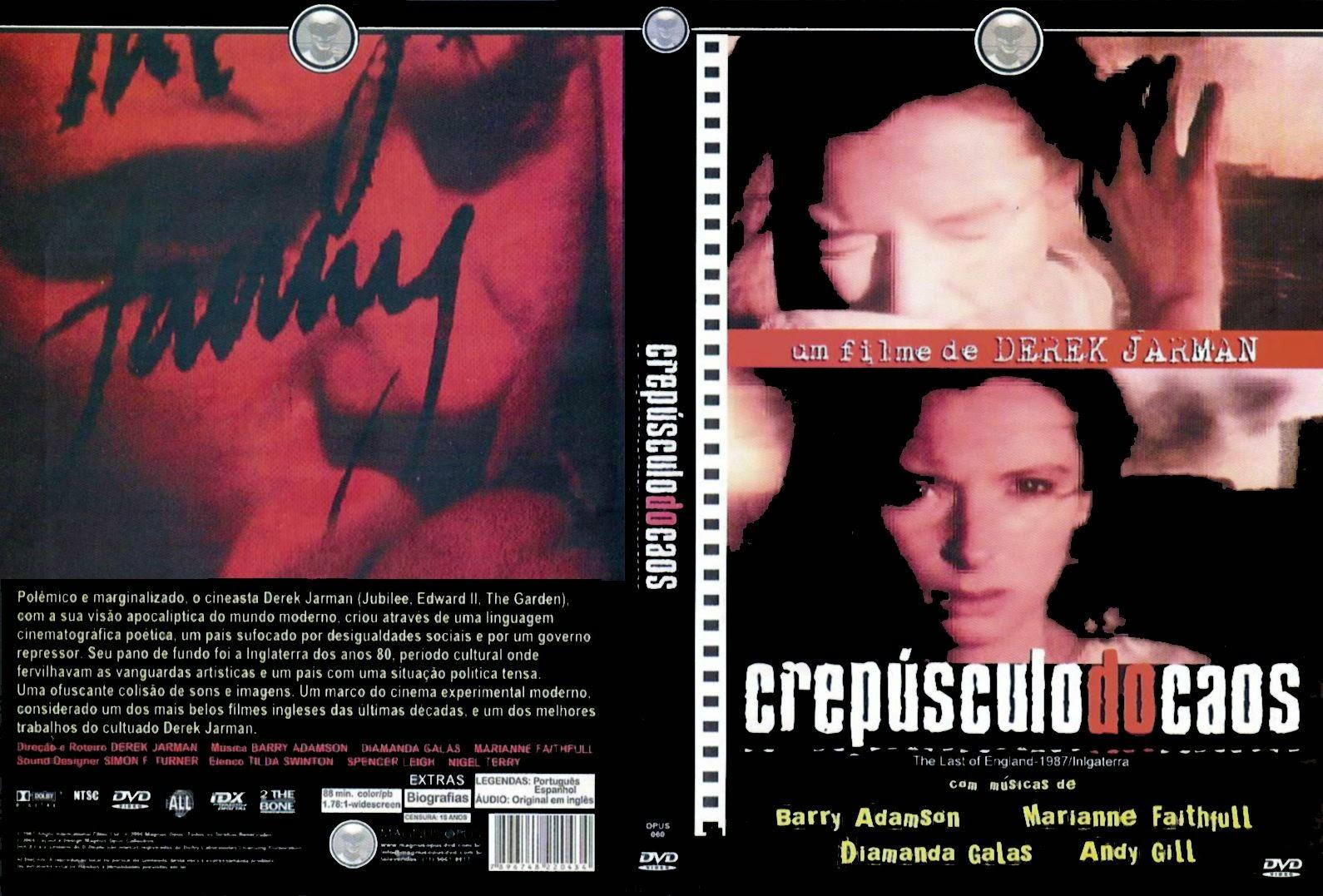 Capa DVD Crepúsculo Do Caos