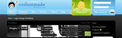 web para encontrar logos para inspiracion