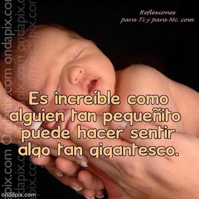 Frases cortas para mi bebé en el vientre - Imagui