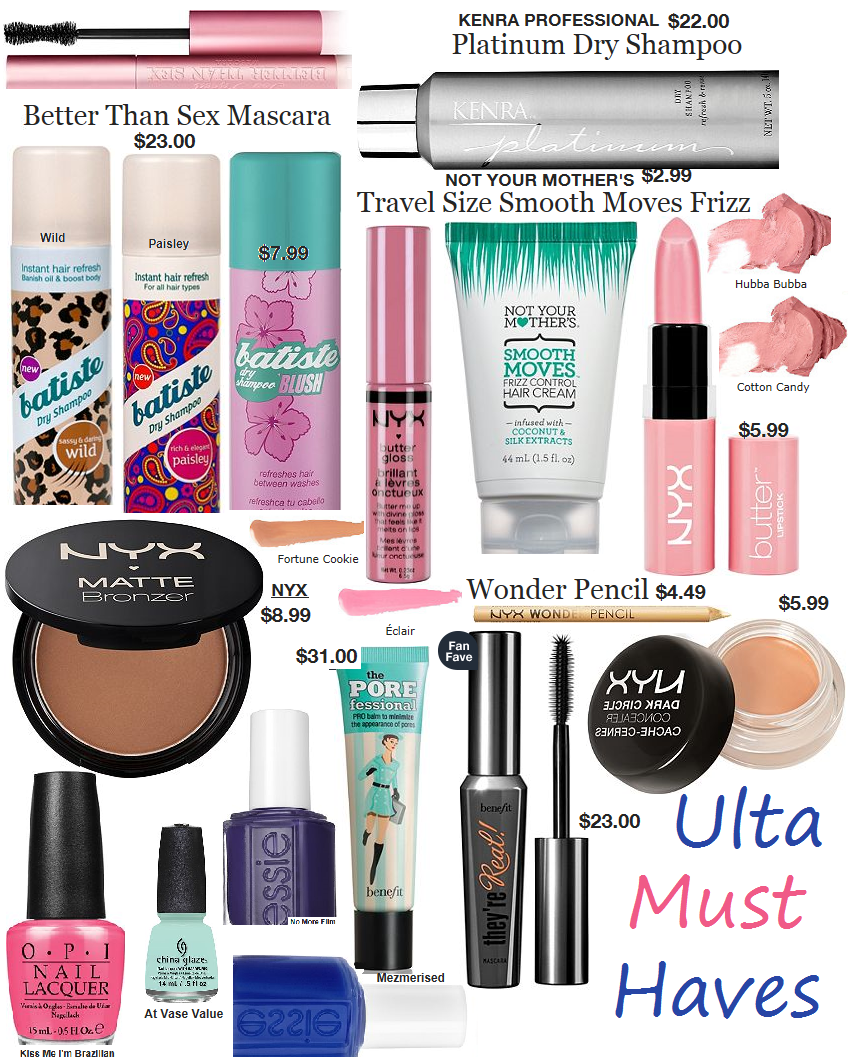 Kara Louise.: Must Haves from Ulta