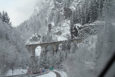 Chamonix France, Exiting Mont Blanc Tunnel