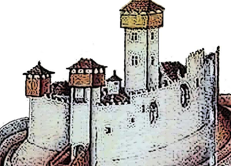 Il mulino del tempo i templari le fortezze del tempio in for Case che sembrano castelli
